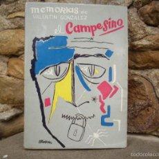 Libros de segunda mano: MEMORIAS DE VALENTÍN GONZÁLEZ - EL CAMPESINO - VIDA Y MUERTE EN LA URSS, ED.MARACAY 1957. Lote 58421719