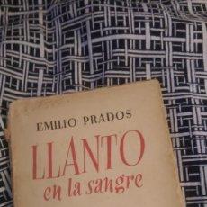 Libros de segunda mano: LLANTO EN LA SANGRE 1938. Lote 58573214