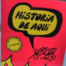 Libros de segunda mano: FORGES HISTORIA DE AQUI LA HISTORIA IN CIVIL ESPAÑOLA TAPAS DURAS. Lote 59796317
