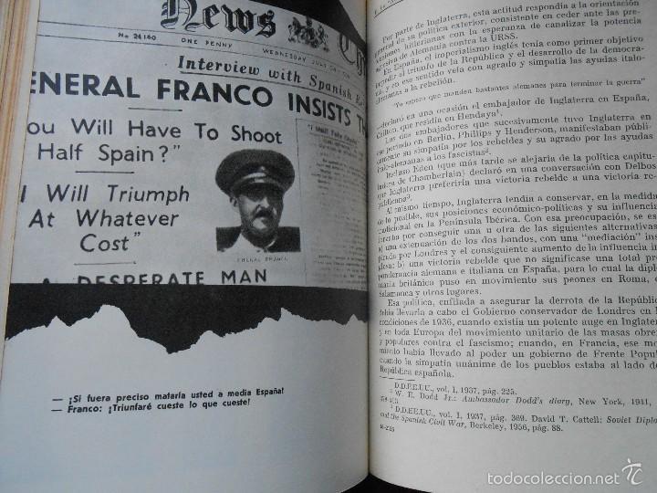 Libros de segunda mano: GUERRA Y REVOLUCIÓN EN ESPAÑA 1936-39 - Foto 4 - 60128879