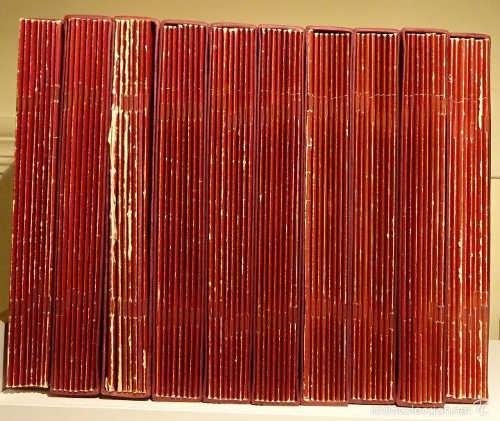 DOBLE DIARIO DE LA GUERRA CIVIL. 1936-1939. 10 CARPETAS CON 80 FASCÍCULOS (Libros de Segunda Mano - Historia - Guerra Civil Española)