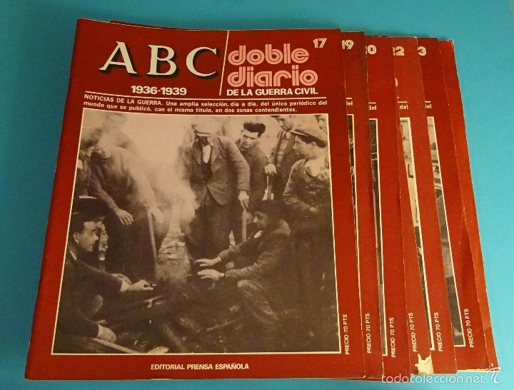 Libros de segunda mano: DOBLE DIARIO DE LA GUERRA CIVIL. 1936-1939. 10 CARPETAS CON 80 FASCÍCULOS - Foto 2 - 49286924