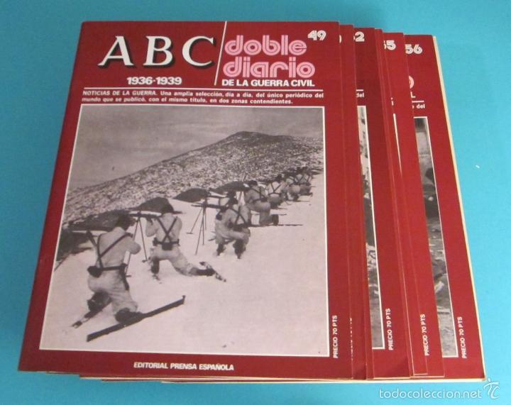 Libros de segunda mano: DOBLE DIARIO DE LA GUERRA CIVIL. 1936-1939. 10 CARPETAS CON 80 FASCÍCULOS - Foto 4 - 49286924
