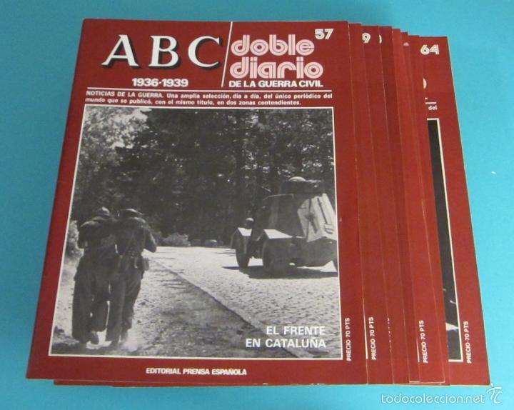 Libros de segunda mano: DOBLE DIARIO DE LA GUERRA CIVIL. 1936-1939. 10 CARPETAS CON 80 FASCÍCULOS - Foto 5 - 49286924