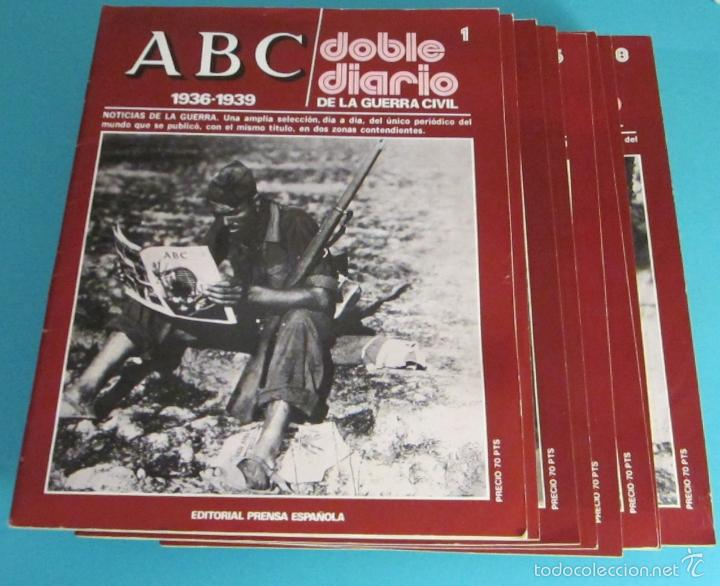 Libros de segunda mano: DOBLE DIARIO DE LA GUERRA CIVIL. 1936-1939. 10 CARPETAS CON 80 FASCÍCULOS - Foto 7 - 49286924