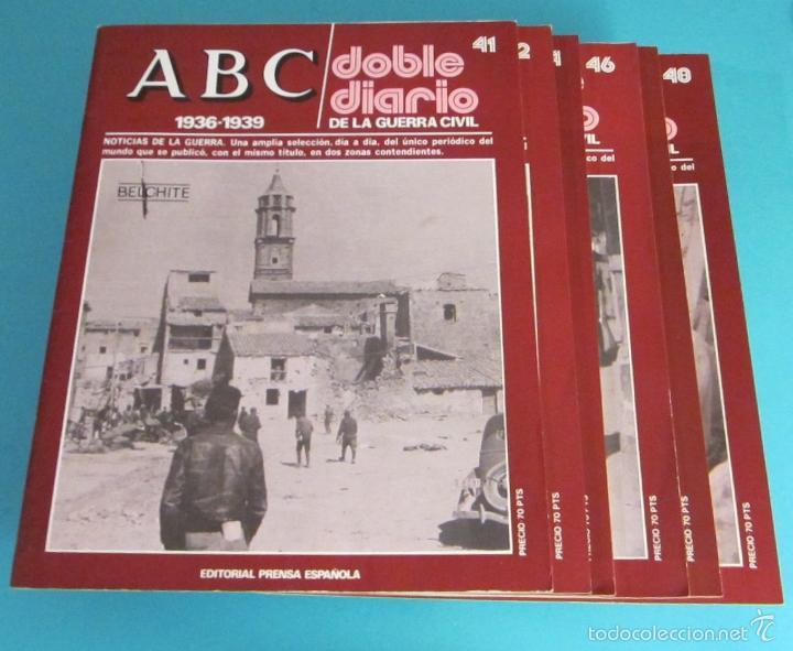 Libros de segunda mano: DOBLE DIARIO DE LA GUERRA CIVIL. 1936-1939. 10 CARPETAS CON 80 FASCÍCULOS - Foto 9 - 49286924