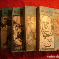 Libros de segunda mano: JOAQUIN PEREZ MADRIGAL: - ITINERARIOS DE INFAMIA (OBRA COMPLETA: 5 TOMOS) - (MADRID, 1948). Lote 62606420