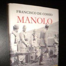 Libros de segunda mano: MANOLO / FRANCISCO DE COSSIO. Lote 63110156