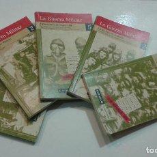 Libros de segunda mano: LA GUERRA MILITAR. ESPAÑA 1936-1939.5 VOL. (LA GUERRA CIVIL ESPAÑOLA). Lote 63382732