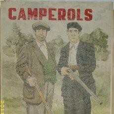Libros de segunda mano: CARTEL DE LA GUERRA CIVIL. CAMPEROL LES MILICIES US NECESSITEN.. Lote 65107078