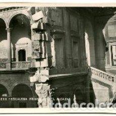 Libros de segunda mano: POSTAL ANTIGUA DE TOLEDO: ESCALERA PRINCIPAL DEL ALCAZAR/OLD POSTCARD OF TOLEDO: ESCALERA PRINCIPAL. Lote 65106990
