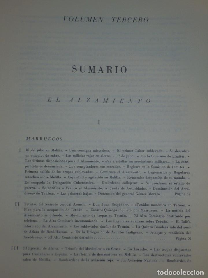 Libros de segunda mano: Libro - Historia de la Cruzada Española - Volumen III - El alzamiento - Datafilms, s.a. 1984 - Foto 5 - 66185162