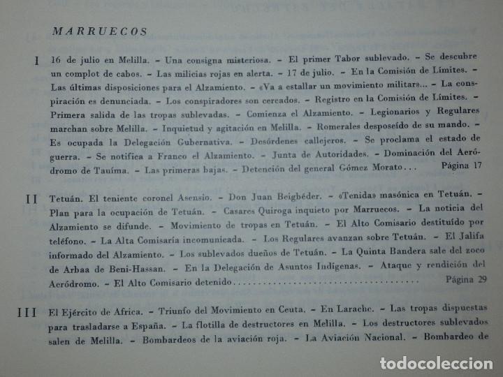 Libros de segunda mano: Libro - Historia de la Cruzada Española - Volumen III - El alzamiento - Datafilms, s.a. 1984 - Foto 6 - 66185162