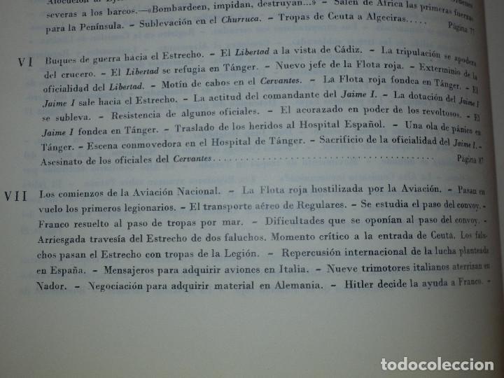Libros de segunda mano: Libro - Historia de la Cruzada Española - Volumen III - El alzamiento - Datafilms, s.a. 1984 - Foto 9 - 66185162