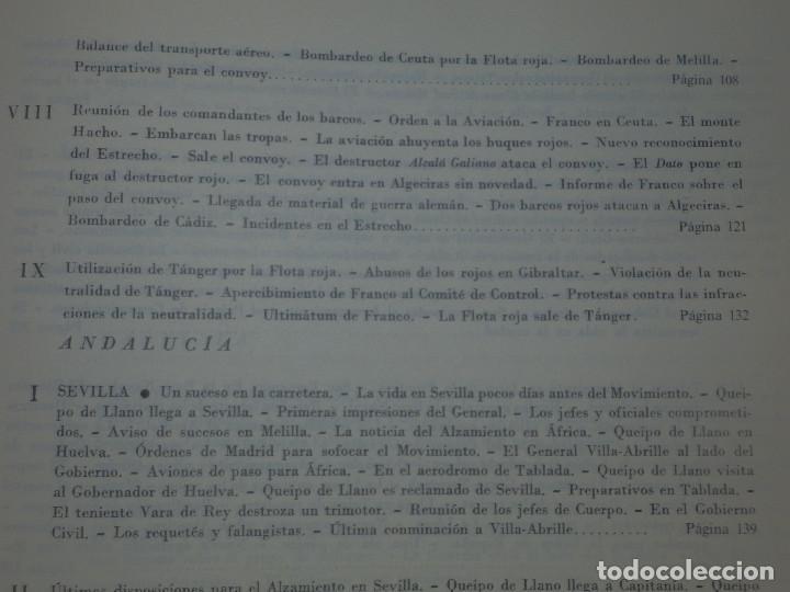 Libros de segunda mano: Libro - Historia de la Cruzada Española - Volumen III - El alzamiento - Datafilms, s.a. 1984 - Foto 10 - 66185162