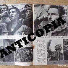 Libros de segunda mano: GUERRA CIVIL - ROBERT CAPA - PICTURE POST 1938 - REVISTA ORIGINAL - BRIGADAS INTERNACIONALES. Lote 69095425