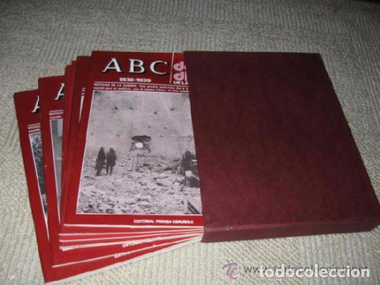Libros de segunda mano: ABC. Doble Diario de la Guerra Civil. Noticias de la guerra. Director: Xavier Tusell, 8 tomos - Foto 2 - 69417441