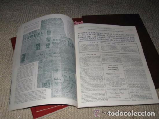 Libros de segunda mano: ABC. Doble Diario de la Guerra Civil. Noticias de la guerra. Director: Xavier Tusell, 8 tomos - Foto 4 - 69417441
