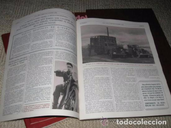 Libros de segunda mano: ABC. Doble Diario de la Guerra Civil. Noticias de la guerra. Director: Xavier Tusell, 8 tomos - Foto 5 - 69417441
