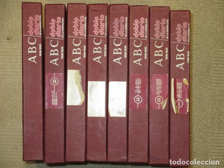 Libros de segunda mano: ABC. Doble Diario de la Guerra Civil. Noticias de la guerra. Director: Xavier Tusell, 8 tomos - Foto 6 - 69417441