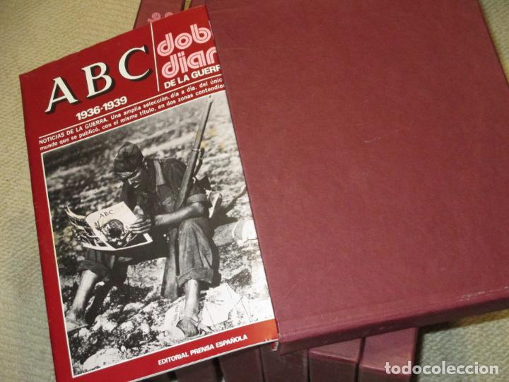 Libros de segunda mano: ABC. Doble Diario de la Guerra Civil. Noticias de la guerra. Director: Xavier Tusell, 8 tomos - Foto 8 - 69417441