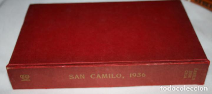 SAN CAMILO 1936 MADRID, CAMILO JOSE CELA, ALFAGUARA 1970, LIBRO (Libros de Segunda Mano - Historia - Guerra Civil Española)