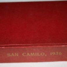 Libros de segunda mano: SAN CAMILO 1936 MADRID, CAMILO JOSE CELA, ALFAGUARA 1970, LIBRO. Lote 78380925