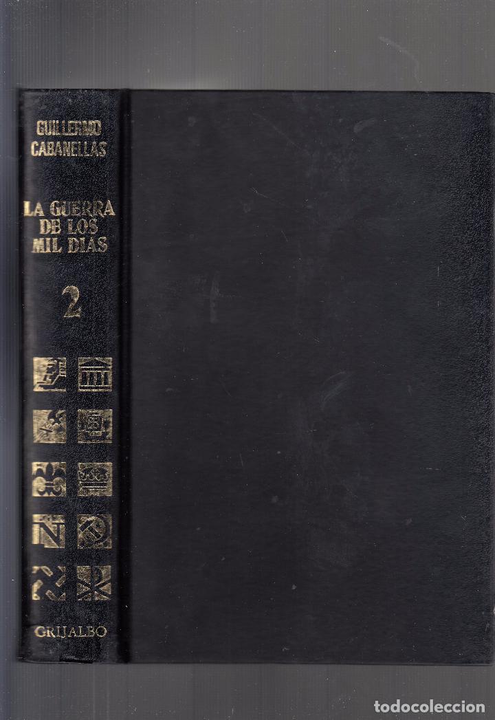 GUILLERMO CABANELLAS. LA GUERRA DE LOS MIL DÍAS. II REPÚBLICA. 2 VOLS. BUENOS AIRES, 1973. (Libros de Segunda Mano - Historia - Guerra Civil Española)