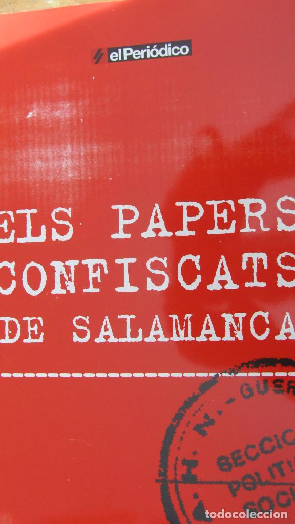 ELS PAPERS CONFISCATS DE SALAMANCA (EL PERIÓDICO) (Libros de Segunda Mano - Historia - Guerra Civil Española)