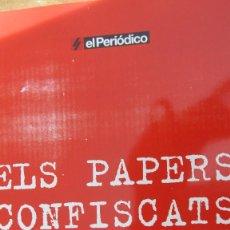 Libros de segunda mano: ELS PAPERS CONFISCATS DE SALAMANCA (EL PERIÓDICO). Lote 81212868