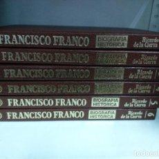 Libros de segunda mano: BIOGRAFIA HISTÓRICA FRANCISCO FRANCO . .RICARDO DE LA CIERVA . 6 TOMOS. ED PLANETA. COMPLETA. Lote 82680664