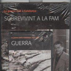 Libros de segunda mano: LA GUERRA CIVIL A CATALUNYA. VOL.2 . SOBREVIVINT A LA FAM. + DVD . NOU PRECINTAT. Lote 83355752