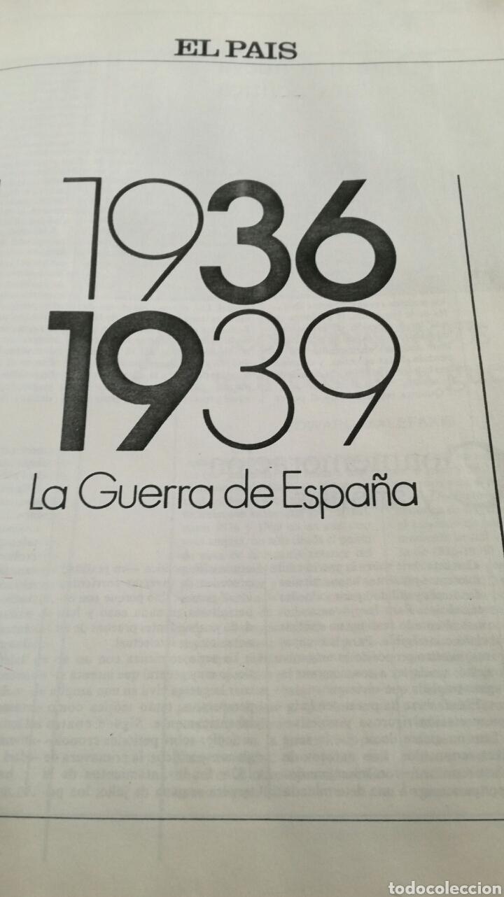 LA GUERRA DE ESPAÑA 1936-1939 (Libros de Segunda Mano - Historia - Guerra Civil Española)