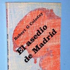 Libros de segunda mano: EL ASEDIO DE MADRID. Lote 85100156
