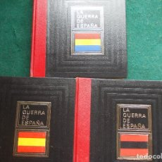 Libros de segunda mano: LA GUERRA DE ESPAÑA 1936-1939 3 EJEMPLARES. Lote 86605820
