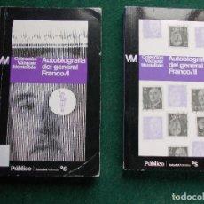 Libros de segunda mano: AUTOBIOGRAFÍA DEL GENERAL FRANCO. Lote 86608556