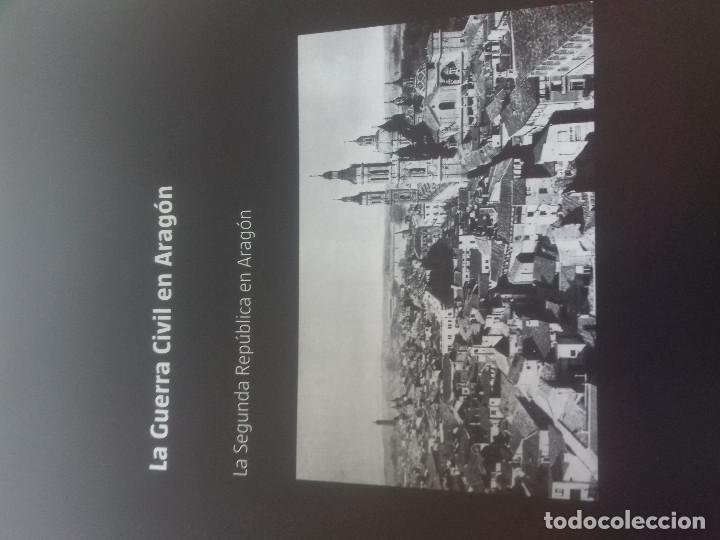 Libros de segunda mano: LA SEGUNDA REPUBLICA EN ARAGON-LA GUERRA CIVIL EN ARAGON-EL PERIODICO-DPZ - Foto 2 - 87297464