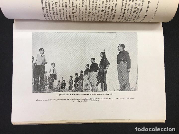 Libros de segunda mano: Sancho Davila y Julián Pemartin. Hacia la historia de la Falange. Primera contribución.., 1938. - Foto 2 - 87522168