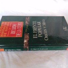 Libros de segunda mano: EPISODIOS HISTÓRICOS ESPAÑA-RICARDO DE LA CIERVA-V-30/1934-1936 EL FRENTE POPULAR-ORIGEN MITO. Lote 88873416