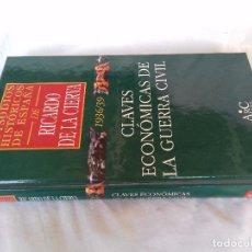 Libros de segunda mano: EPISODIOS HISTÓRICOS ESPAÑA-RICARDO DE LA CIERVA-V-41/1936-39CLAVES ECONOMICAS DE LA GUERRA CIVIL. Lote 88873708