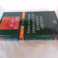 Libros de segunda mano: EPISODIOS HISTÓRICOS ESPAÑA-RICARDO DE LA CIERVA-V-42/1936-39 PERSECUCION, REPRESION, CRUZADA. Lote 88873732