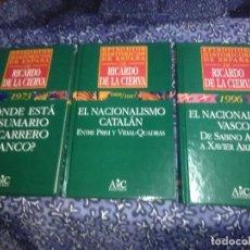 Libros de segunda mano: (LOTE DE 3). EPISODIOS HISTÓRICOS DE ESPAÑA DE RICARDO DE LA CIERVA. NN. 7, 23 Y 24.. Lote 89796660