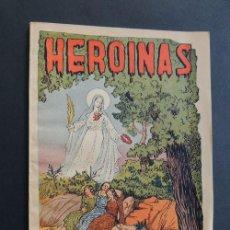 Libros de segunda mano: HEROINAS / NOTAS BIOGRAFICAS DE LAS HNAS. FRADERA / MARTIRES / RIUDARENES / GIRONA 1950 / ILUSTRADO. Lote 169901722