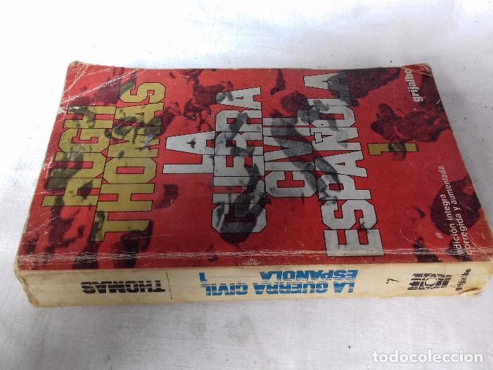 LA GUERRA CIVIL ESPAÑOLA-HUGH THOMAS-VOL1-GRIJALVO-1976 (Libros de Segunda Mano - Historia - Guerra Civil Española)