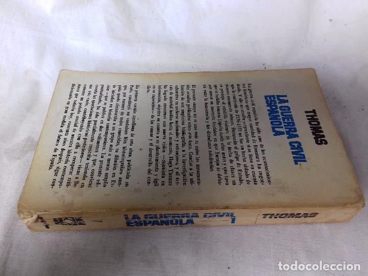 Libros de segunda mano: LA GUERRA CIVIL ESPAÑOLA-HUGH THOMAS-VOL1-GRIJALVO-1976 - Foto 2 - 92053140