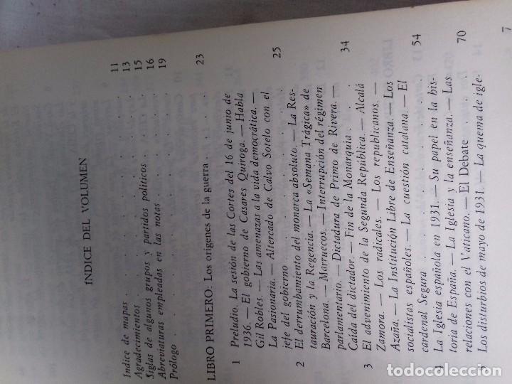 Libros de segunda mano: LA GUERRA CIVIL ESPAÑOLA-HUGH THOMAS-VOL1-GRIJALVO-1976 - Foto 6 - 92053140