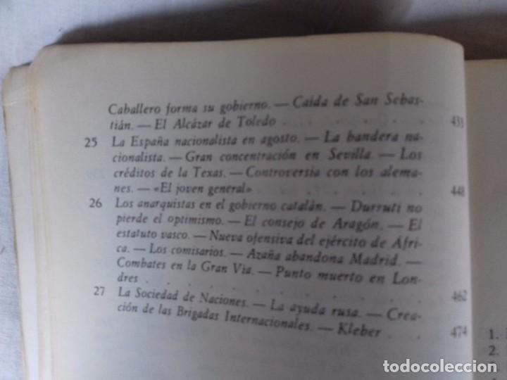 Libros de segunda mano: LA GUERRA CIVIL ESPAÑOLA-HUGH THOMAS-VOL1-GRIJALVO-1976 - Foto 9 - 92053140