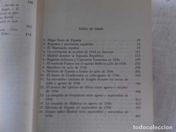 Libros de segunda mano: LA GUERRA CIVIL ESPAÑOLA-HUGH THOMAS-VOL1-GRIJALVO-1976 - Foto 10 - 92053140