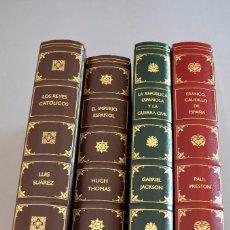 Libros de segunda mano: REYES CATÓLICOS, IMPERIO ESPAÑOL, REPUBLICA Y GUERRA CIVIL, FRANQUISMO. Lote 93321080