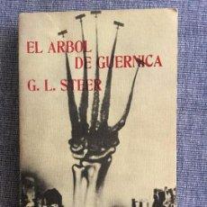 Libros de segunda mano: EL ÁRBOL DE GUERNICA. G. L. STEER.. Lote 93895785